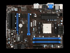 MSI FM2-A55-G43 FM2 AMD A55 SATA 6Gb/s USB 3.0 HDMI Micro ATX AMD Motherboard