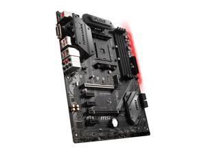 MSI B450 TOMAHAWK AM4 AMD B450 SATA 6Gb/s USB 3.1 HDMI ATX AMD Motherboard