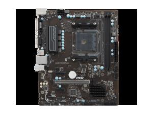Msi A320M Pro-Vh Plus Socket Am4//A320//Ddr4//S-Ata 600//Micro Atx Motherboard Black