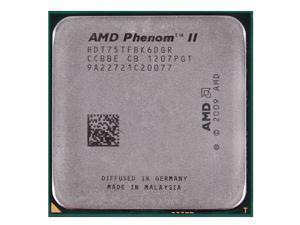 AMD Phenom II X6 1075T 3.0GHz 6 x 512 KB L2 Cache 6 MB L3 Cache 125W Six-Core Processor Socket AM3 desktop CPU