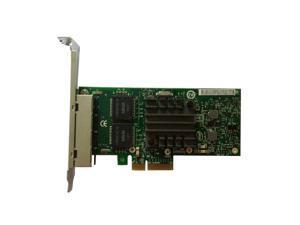 Intel Ethernet Server Adapter I340-T4 4-Port Gigabit PCI-E E1G44HTBLK