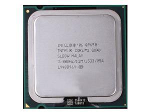 Intel Core 2 Quad Q9650 3.0 GHz 12 MB Cache 95W Quad-Core Processor SLB8W LGA775 desktop CPU