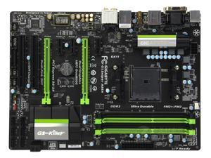 Gigabyte G1.Sinper A88X AMD A88X (Bolton D4) SATA 6Gb/s USB 3.0 HDMI ATX AMD Motherboard