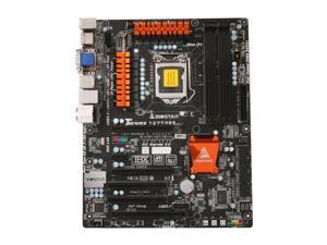 BIOSTAR TZ77XE4 LGA 1155 Intel Z77 HDMI SATA 6Gb/s USB 3.0 ATX Intel Motherboard with UEFI BIOS