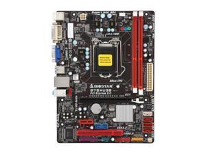 BIOSTAR B75MU3B LGA 1155 Intel B75 SATA 6Gb/s USB 3.0 Micro ATX Intel Motherboard