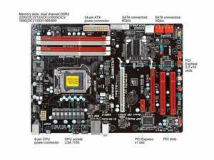 BIOSTAR TP67B+ LGA 1155 Intel P67 SATA 6Gb/s USB 3.0 ATX Intel Motherboard