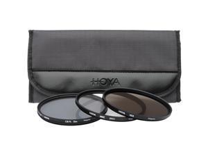 Hoya 67mm II (HMC UV / Circular Polarizer / ND8) 3 Digital Filter Set with Pouch