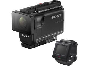 Sony HDR-AS50 Full HD Action Cam with RM-LVR2 Live View Remote #HDR-AS50R/B