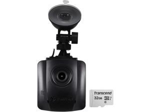 Transcend DrivePro 110 1080p Car Dashboard Video Camera with Suction Mount Includes 32GB Memory Card