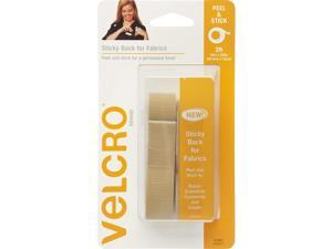 """VELCRO(R) Brand STICKY BACK For Fabric Tape .75""""""""X24""""""""-Beige"""