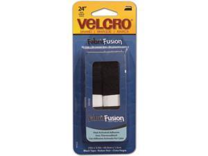 "VELCRO(R) brand Fabric Fusion Tape 3/4""X24""-Black"