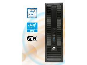 HP 800 G1 SFF Desktop Workstation, Quad-Core i7 4770 3.4, 16GB RAM, 256GB SSD, Intel HD Graphics 4600 4K 3-Monitor Support, USB 3, WiFi, Windows 10 Pro, Bluetooth, HDMI