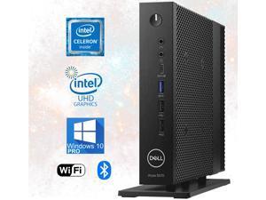 Dell 5070 USFF, Quad Core Celeron upto 2.50GHz, 8GB DDR4, 256GB M.2 SSD, USB 3.1, WiFi, Bluetooth, 4K UHD 2-Monitor Support, Display Port, HDMI, Windows 10 Pro