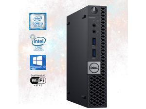 Dell OptiPlex 3070 Micro Desktop Computer, Intel Core i3-9100T Upto 3.7GHz 16GB RAM, 512GB M.2 NVME SSD, AC Wi-Fi, Bluetooth, DisplayPort, HDMI - Windows 10 Pro