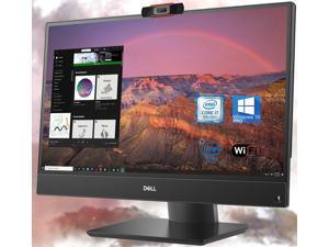 Dell OptiPlex 5270 All-in-One Desktop, 22-inch FHD Display, Intel i7-9700 Upto 4.7GHz, 16GB RAM, 1TB NVMe SSD + 500GB HDD, Webcam, DisplayPort, HDMI, SD-Card, USB Type-C - Windows 10 Pro