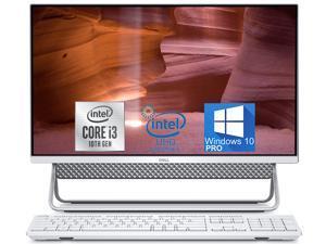 "Dell Inspiron 5490 All-in-One, 24"" FHD Display, i3-10110u, 16GB RAM, 256GB NVMe SSD, Webcam, HDMI, SD-Card, USB Type-C - Windows 10 Pro (White)"