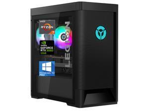 Lenovo Legion Tower 5 Gaming Desktop, AMD Ryzen 7-5800, 64GB RAM, 2TB NVMe SSD + 1TB SATA HDD, NVIDIA GeForce RTX 3060 12GB GDDR6, DisplayPort, HDMI, AX Wi-Fi, Bluetooth - Windows 10 Pro