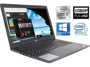 "Dell Inspiron 3593 Notebook, 15.6"" FHD Display, Intel Core i7-1065G7 Up to 3.90GHz, 16GB RAM, 1TB SSD, Wi-Fi, Bluetooth, Card Reader, HDMI, Intel IRIS Pro Plus, Windows 10 Pro"