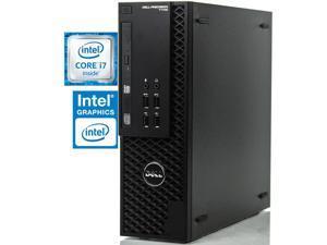 Dell Precision T1700 Workstation, Quad-Core i7 4770 upto 3.9GHz, 8GB RAM, 256GB SSD + 500GB HDD, HD Graphics 4K 3-Monitor Support(2x DP, 1x VGA), WIFI, BT 4, DVD-RW, USB 3.0, Win 10 Pro Desktop