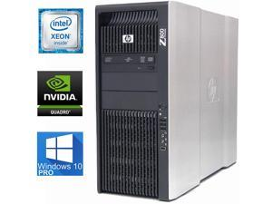 HP Z800 Workstation Liquid-Cooled, 2 X Xeon X5675, 64GB DDR3 ECC, 2TB SSD Samsung Evo 850, Windows 10 Pro, USB 3, WiFi, Bluetooth, Quadro M2000 4GB DDR5, DVDRW
