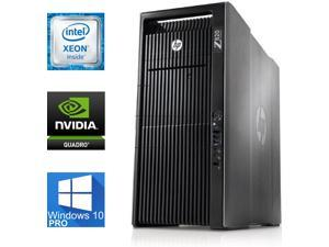 HP Z820 Workstation, 2 X Xeon E5-2660 V2, 64GB DDR3 ECC, 2TB SSD Samsung Evo 850, Windows 10 Pro, USB 3, WiFi, Bluetooth, Quadro M2000 4GB DDR5, DVDRW, HDMI