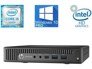 HP EliteDesk 800 G2 Mini PC, Intel Quad Core i5-6500T Upto 3.10GHz, 8GB RAM, 2TB SSD Samsung Evo 850, VGA, 2x DisplayPort, WiFi, Windows 10 Pro