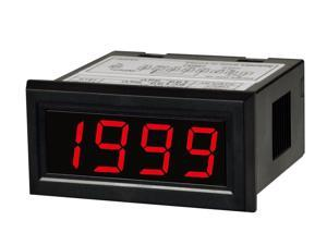 AUTONICS M4N-DV-02 Meter, DC Volts, LED, W48xH24mm, 3 1/2-Digit, 199.9mV Full Scale, 5 VDC