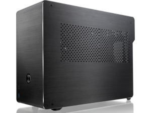 RAIJINTEK OPHION EVO ALS, a SFF case (mini-ITX) with Solid Alu. panel, is designed to fulfill a smallest case built with max. possibility high-end and gaming components.