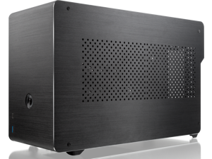 RAIJINTEK OPHION ALS, a SFF case (Mini-ITX) Solid Alu panel, is designed to fulfill a smallest case built with max. possibility high-end and gaming components.