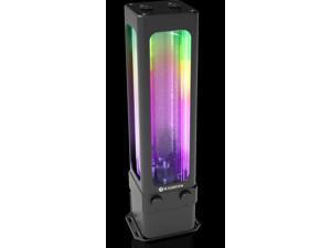 ANTILA D5 EVO RBW, a D5 Level Pump w/ 220mm Glass Reservoir, Integrated 5V ARGB LED Light Cap, Super Flow Discharge 1500L/H, Pressure Head 13feet (4 meter), Reliable Alu. Housing, light weighted POM