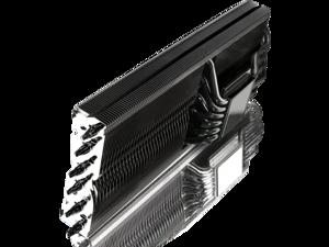 RAIJINTEK MORPHEUS 8057 - Superior High-End VGA Cooler (TDP 360W) for NVDIA 2080 & AMD 5700, 12* 6mm Heat-Pipe & 129 fins, copper heat-sink for chip cooling, Fan clip options for 12025 & 12013 fans