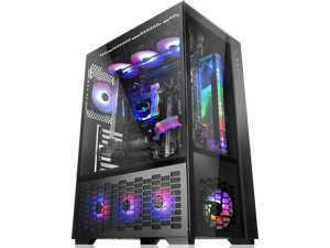 """RAIJINTEK PAEAN PREMIUM supports up to ATX M/B, amazing compatibility of max. 12 fans (12025) & 1×14025 fan at the rear. 2×2.5"""" SSD or 2×2.5"""" HDD or 2×3.5"""" HDD, 430mm VGA card, Type C×1 + USB3.0×2."""