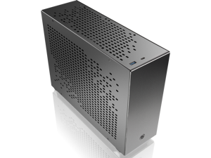 RAIJINTEK OPHION 7L BLACK, super small 7 liter volume, for Mini-ITX M/B, amazing compatibility of max. 3 9025 fans, 2 on top, 1 at bottom., tool-free for easy installation, SFX PSU compatibility