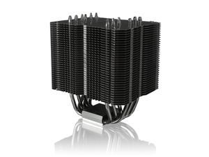 RAIJINTEK EREBOSS CORE EDITION, 6 x 6mm Heat-pipe, Fully Black Coated, Copper Nickel Base, Support Dual Fans, Giant Dissipating Fin Area, Multiple Mounting Kits for Intel & AMD