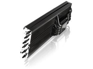 RAIJINTEK MORPHEUS II CORE EDITION - Superior High-End VGA Cooler, 12* 6mm Heat-Pipe & 129 fins, Fully Black Coated, 26 RAM Heat-Sink & 1 Big VRM Heat-Sink, Fan clip options for 12025 & 12013 fans