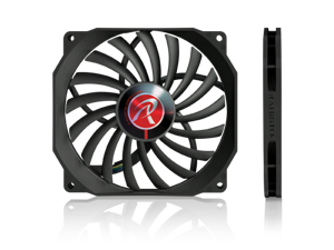 RAIJINTEK Aeolus ß-BB, 120mm x 13mm, 4pin PWM function, PC Case Fan, Cooling System Fan