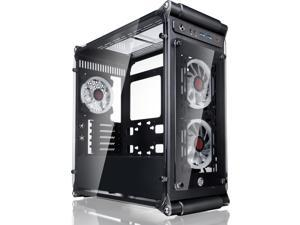 COEUS ELITE TC, a Micro-ATX Gaming Case with Tempered Glass and  3*12025 LED Fans
