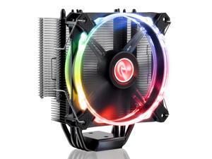 RAIJINTEK LETO RGB CPU cooler, with performing 12025 RGB PWM fan
