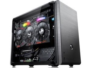 RAIJINTEK OPHION Series OPHION EVO, Aluminum / Steel Mini-ITX Tower Computer Case with 3mm Tempered Glass