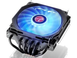PALLAS 120 RGB, a Low profile cooler with 12013 RGB PWM fan, is designed for most desktops, especially for HTPC's and narrow enclosures. 6*6mm Heat-pipe, total height 68mm, compatible with modern CPUs