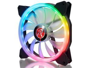 IRIS 14 RBW ADD-1, Addressable RGB 1pack, 14025 Addressable RGB PWM fan, compatible with ASUS/MSI 5V ADD header