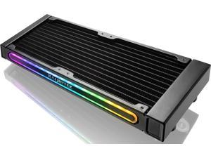 GYGES 240 RBW, 240mm Radiator with Addressable RGB, Compatible with ASUS / MSI 5V ADD Header