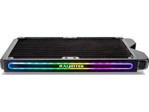 TEOS 240A RBW, 240mm Copper Radiator with Addressable RGB, Compatible with ASUS / MSI 5V ADD Header