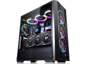 RAIJINTEK PONOS TG, a Mid tower case with 4.0mm tempered glass (side and front), supports up to EEB M/B, and gives you expandability for latest PC hardware and supports up to 360mm radiator at front