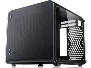 METIS EVO BLACK TGS, an Alu. ITX case with tempered glass, is designed to fulfill the smallest case built with ultra high air flow to solve all thermal issue of SFF chassis, 200mm fan option at front.