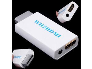 New White Wii to HDMI Converter 480P 3.5mm Audio Converter Adapter Box Wii-link