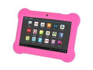 4GB Android 4.4 Wi-Fi Tablet PC Beautiful 7 inch Five-Point Multitouch Display - Special Kids Edition Pink