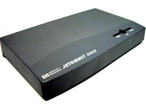 HP J3263A JetDirect 300X ENET External 10/100 Single Port RJ45
