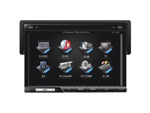 "New Power Acoustik Pd-710B 1 Din 7"" Touchscreen Car Stereo Bluetooth Car Audio"