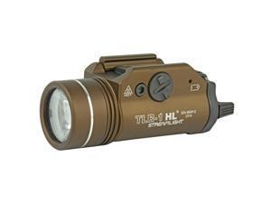 Streamlight TLR-1 HL Flashlight, 800 Lumens w/Lithium Batteries, Flat Dark Earth